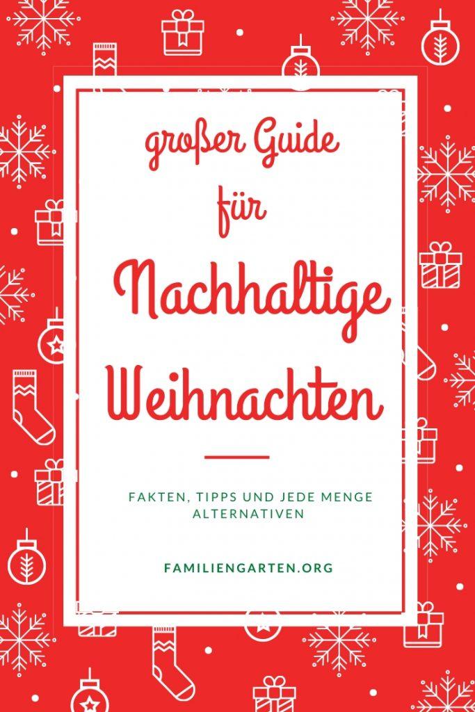 nachhaltige Weihnachten | Familiengarten