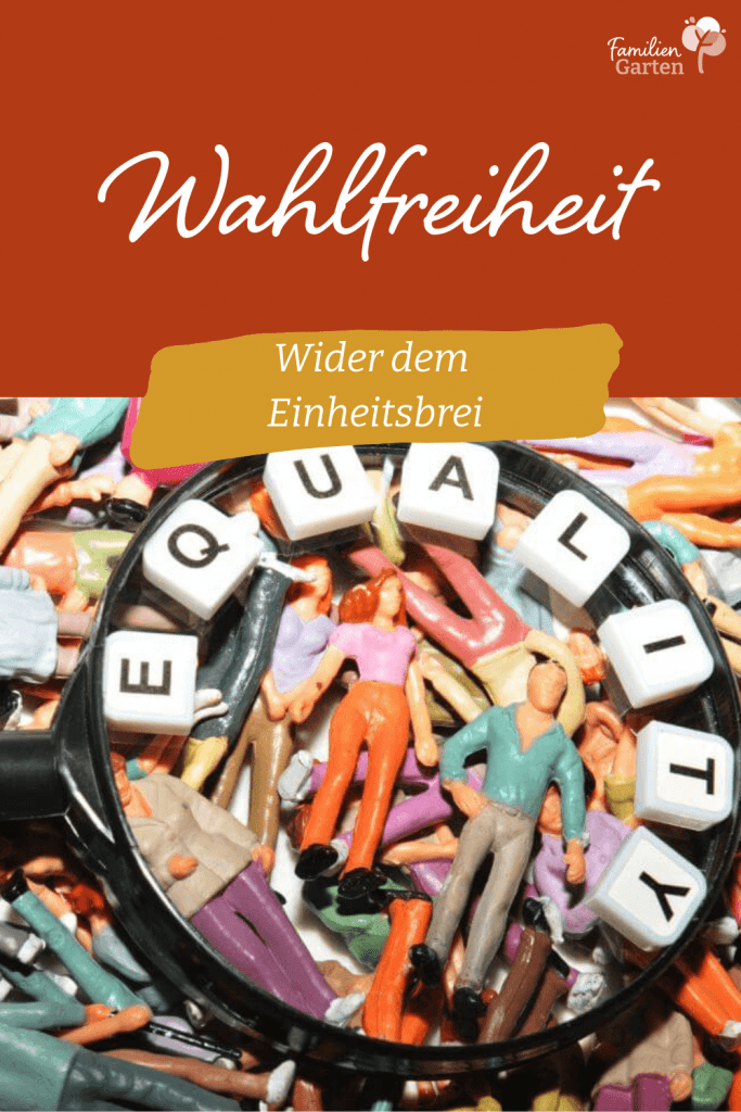Wahlfreiheit - Selbstbestimmung - Feminismus - Familiengarten