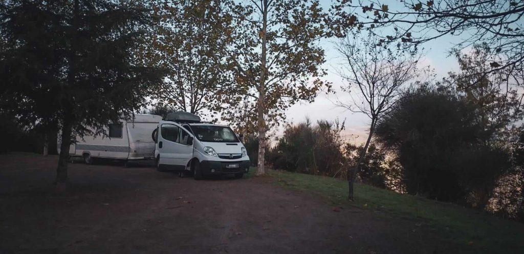autarker Wohnwagen - Familiengarten