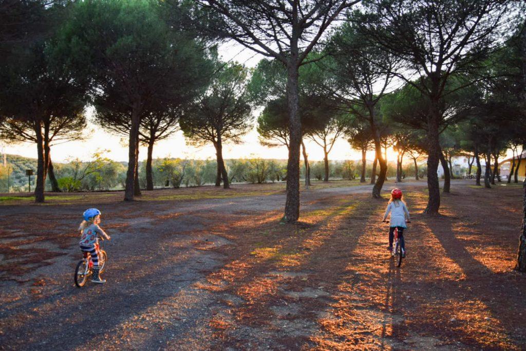 Langzeitreise mit Kindern - immer was neues zu entdecken - Familiengarten